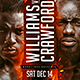 Boxing Event Template Flyer - GraphicRiver Item for Sale