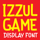 Izzul Game Display Font - GraphicRiver Item for Sale