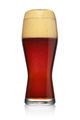 Glass of dark ale or beer isolated on a white - PhotoDune Item for Sale