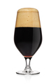 Glass of stout dark beer isolated on a white. - PhotoDune Item for Sale