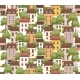 Seamless Pattern Small Houses Two Floors - GraphicRiver Item for Sale