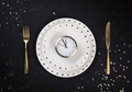 Christmas New Year Festive table setting - PhotoDune Item for Sale