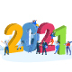 Christmas and New Year 2021 Greeting Cards and Banners - GraphicRiver Item for Sale