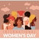 International Women Day. Young Ladies Different - GraphicRiver Item for Sale