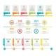 Timeline. Workflow or Process Diagram Option - GraphicRiver Item for Sale