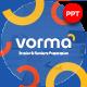 Vorma Interior & Furniture Presentation Template - GraphicRiver Item for Sale