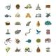 Sri Lanka Travel, Art Background. Tribal Elements - GraphicRiver Item for Sale