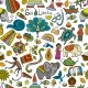Sri Lanka Travel, Seamless Pattern, Background - GraphicRiver Item for Sale