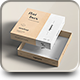 Flat Box Mock-up - GraphicRiver Item for Sale