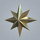 Gold Star - 3DOcean Item for Sale