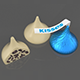 Hershey's Kisses White Chocolate - 3DOcean Item for Sale