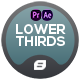 Lower Thirds   Kind Clean   MOGRT - VideoHive Item for Sale