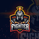 Fighter Esport Logo For Your Team - GraphicRiver Item for Sale
