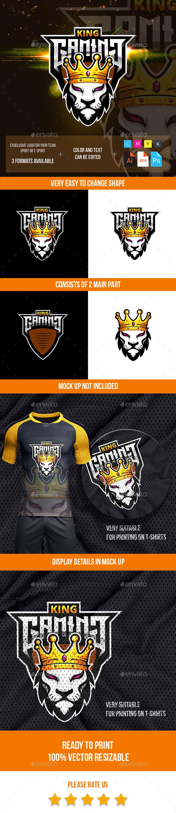 Lion King Esport Logo
