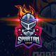 Spartan logo gaming - GraphicRiver Item for Sale