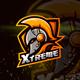 Gladiator Helmet Esport Logo for Gaming - GraphicRiver Item for Sale