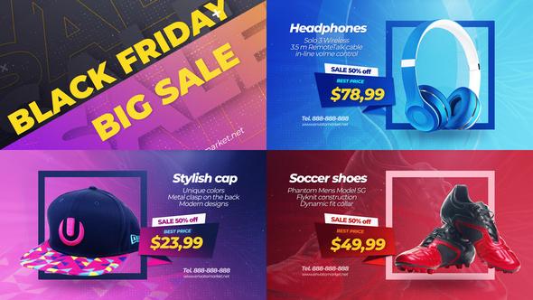 Black Friday Sale Promo Slideshow