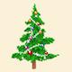 Magic Christmas Santa Logo