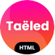 TAELED - Creative Agency HTML Template - ThemeForest Item for Sale