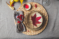 Autumn fall thankisgiving day table setting - PhotoDune Item for Sale