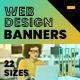 Web Design Web Banners - GraphicRiver Item for Sale