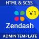 Zendash -   Bootstrap HTML Dashboard Template - ThemeForest Item for Sale