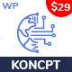 koncpt - Data Science & Analytics WordPress Theme - ThemeForest Item for Sale