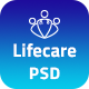 Lifecare - Hospital and Health PSD Template - ThemeForest Item for Sale