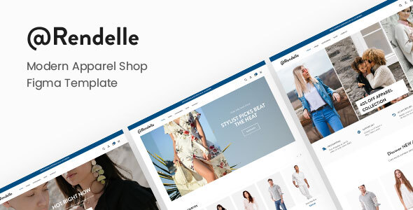Download Arendelle | Modern eCommerce Figma Template Nulled