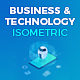 Business and Technology Isometric Concepts - VideoHive Item for Sale