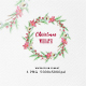 Christmas Wreath Clipart PNG, Watercolor Winter - GraphicRiver Item for Sale