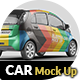 Photorealistic Electro Car Mock Up - 003 - GraphicRiver Item for Sale