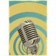 Vocal Microphone Vector - GraphicRiver Item for Sale