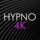 Hypno Black Loop Background Pack 4K - VideoHive Item for Sale