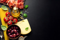Italian food background with food - PhotoDune Item for Sale