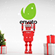 Merry Christmas With Robot Roby - VideoHive Item for Sale