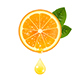Guicy Orange with a Drop of Juice - GraphicRiver Item for Sale