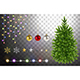 Christmas Tree and Decorative Elements - GraphicRiver Item for Sale