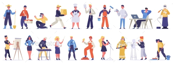 Different Professions and Occupations