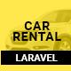 Car Rental - Cab Booking Laravel Script - CodeCanyon Item for Sale
