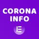 Corona Live Info: Addon for Elementor WordPress Plugin - CodeCanyon Item for Sale