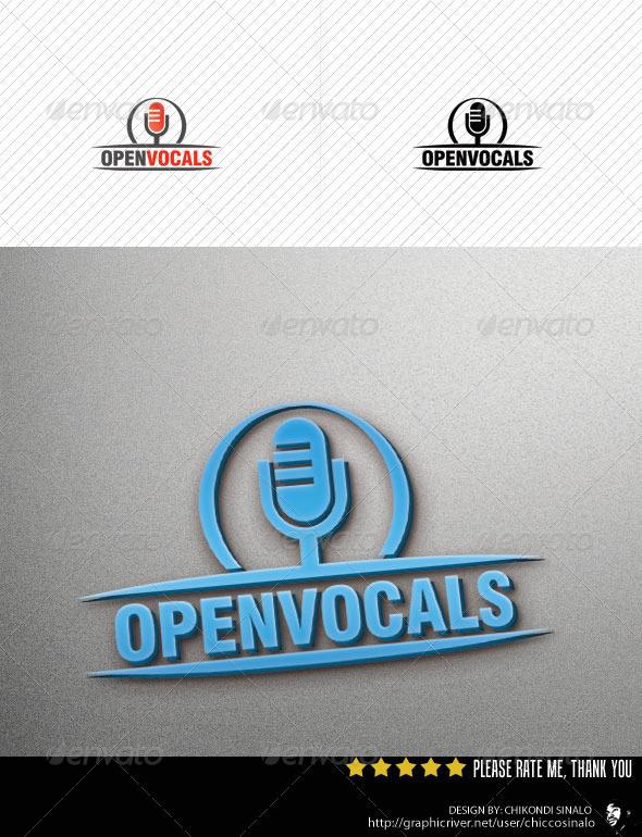Open Vocal Logo Template