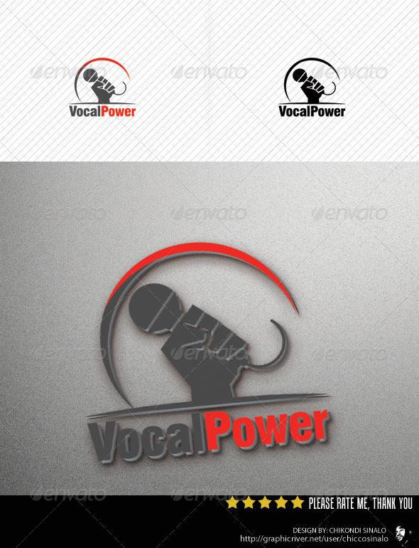 Vocal Power Logo Template