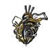 Bionic robot heart - 3DOcean Item for Sale