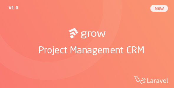 Download Grow – Project Management CRM With Invoicing Estimates Leads And Tasks Nulled
