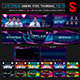 Galactic Live Stream Gaming Video Thumbnail / Overlay Photoshop Templates - GraphicRiver Item for Sale