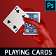 Playing Cards Mockup vol. 3 - GraphicRiver Item for Sale