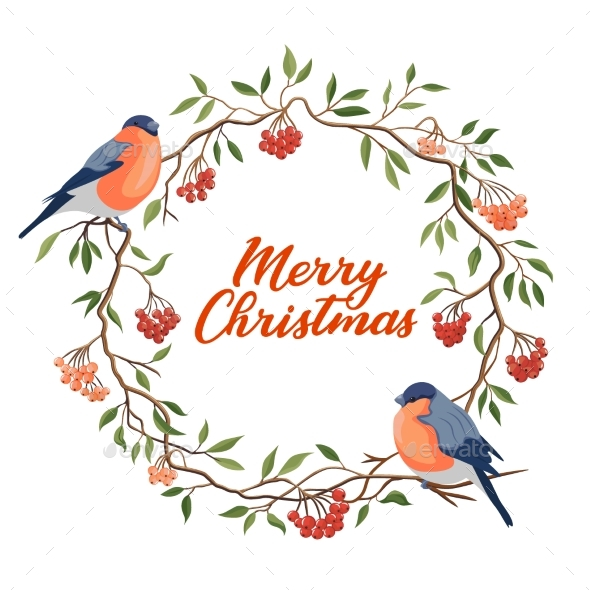 Hand Drawn Merry Christmas Typography