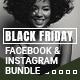 Black Friday Facebook & Instagram Banners Bundle - GraphicRiver Item for Sale