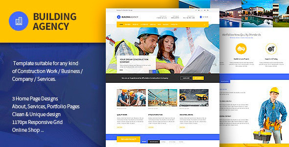 Building Agency - Construction Template